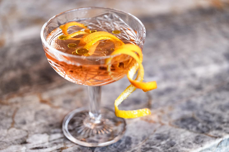 EVOO martini from aba