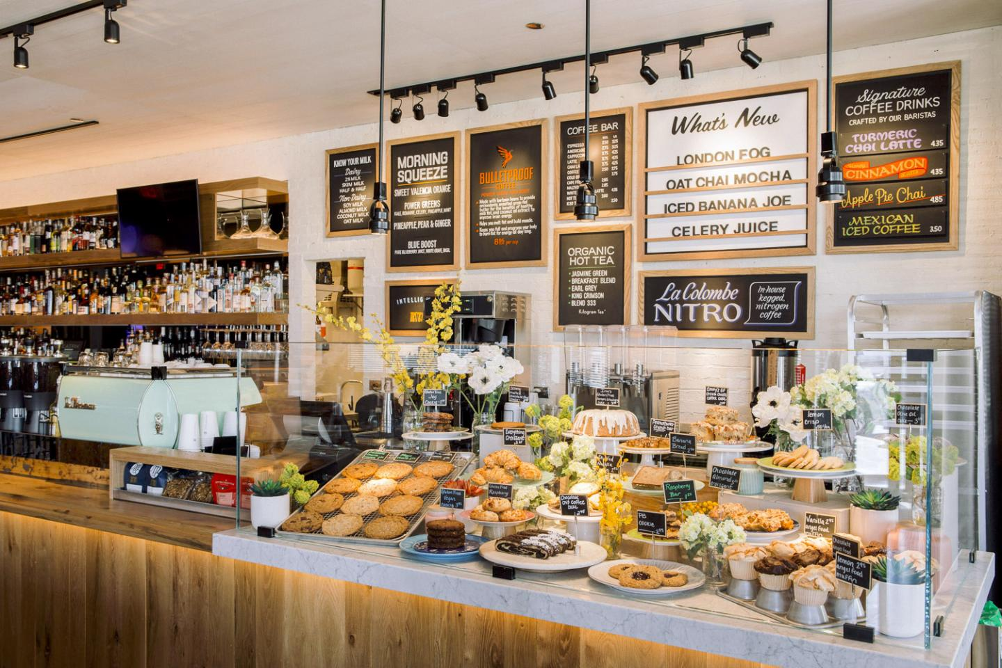Beatrix Oak Brook pastry counter for opening