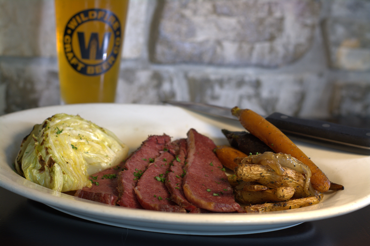 wildfire corned beef and cabbage