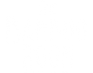 The logo of The Bamboo Room™ at Three Dots and a Dash®