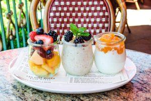 Mon Ami Gabi Breakfast Trio