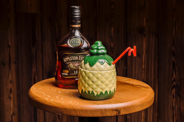 Mr. Maki Frozen Cocktail Pineapple Slushie