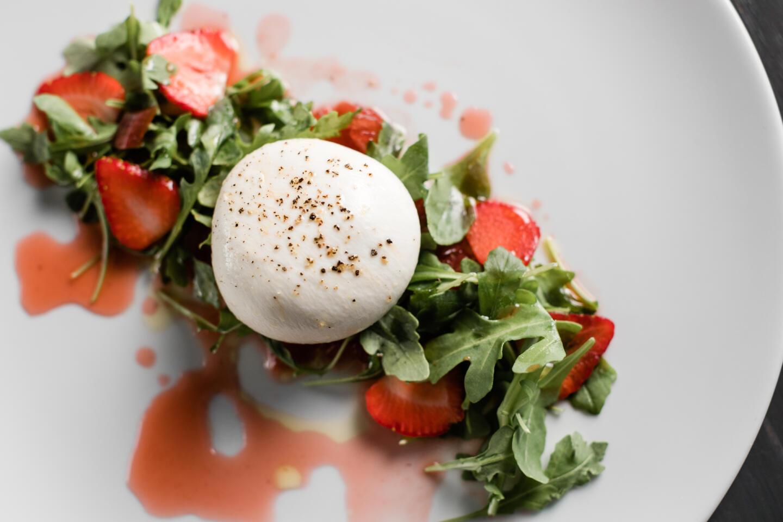 Strawberry burrata RPM Italian