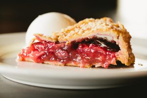 Strawberry Rhubarb Pie at Wildfire
