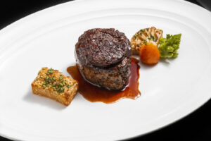 Filet Mignon and Braised Short Ribs at Eiffel Tower