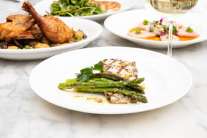 Spring dishes at Summer House