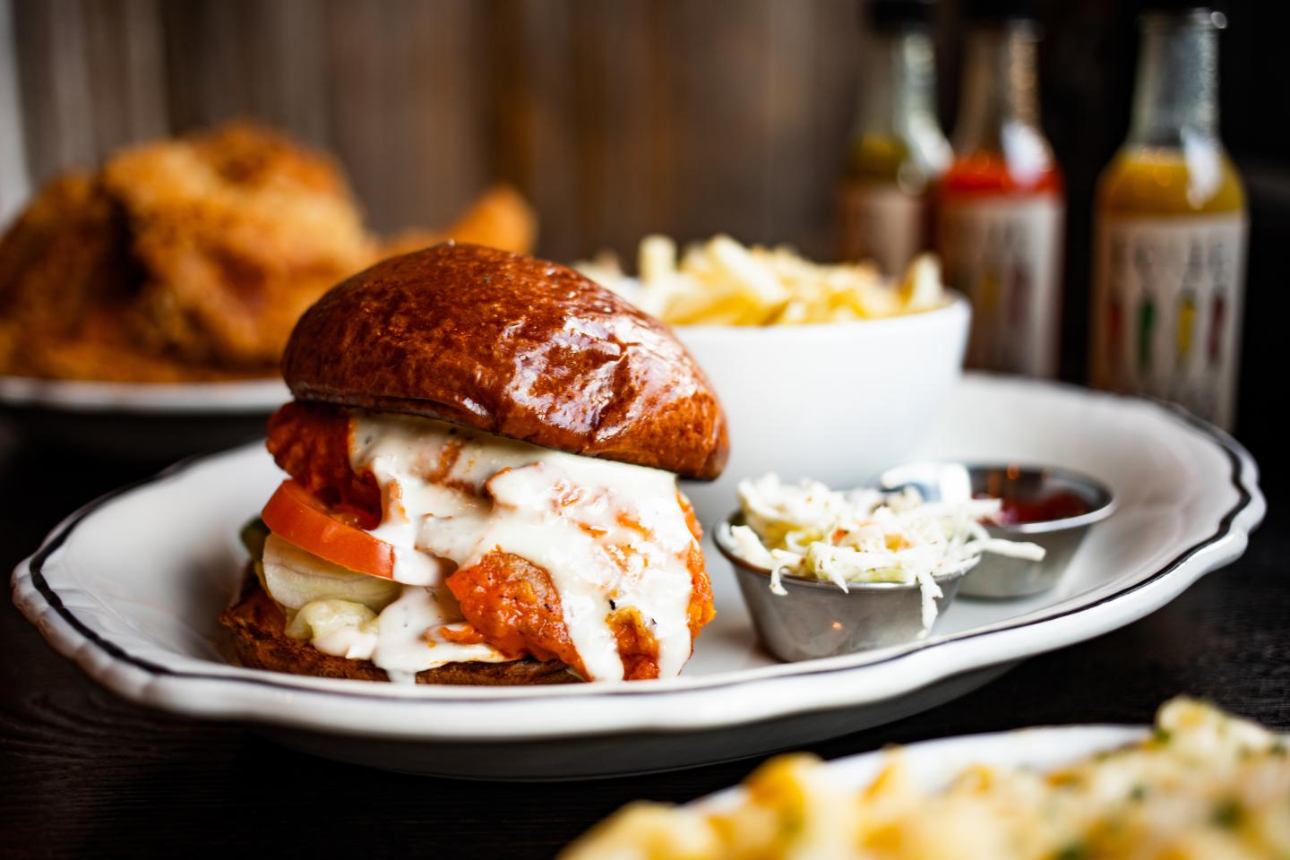 Seaside's Buffalo Chicken Sandwich