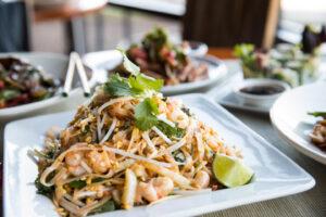 Shrimp Pad Thai at Big Bowl