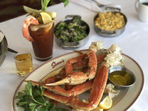 Crab Legs at Shaw's