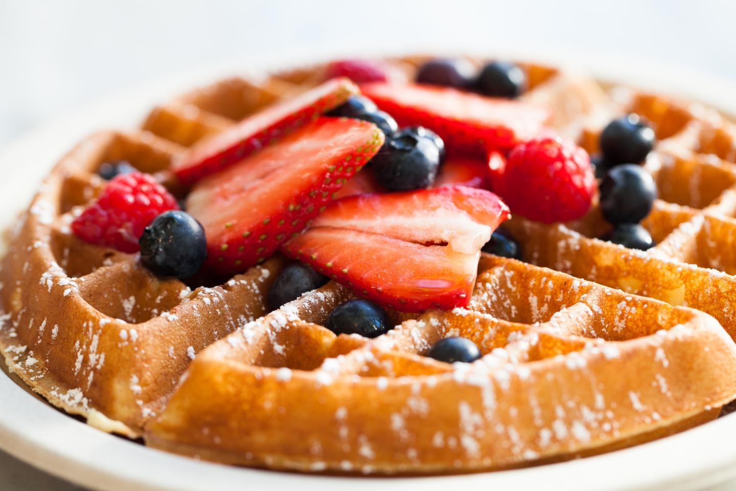 waffles from community canteen