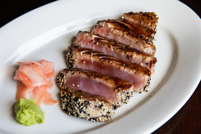 tuna steak teriyaki