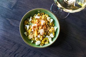 Sweet corn side from Bar Ramone