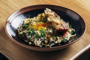 Okonomiyaki at Ramen-San