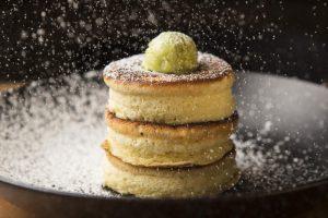Japanese souffle pancakes at Sushi-San