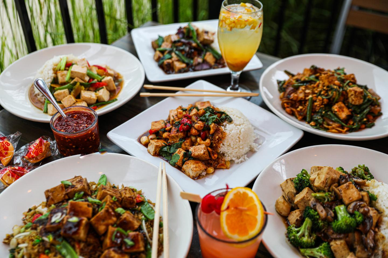 Big Bowl veggie menu main dishes vegetarian chinese