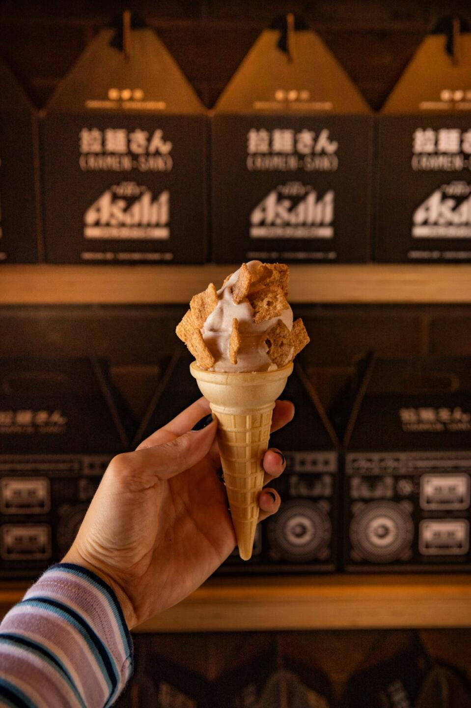 Sushi san cinnamon toast crunch ice cream