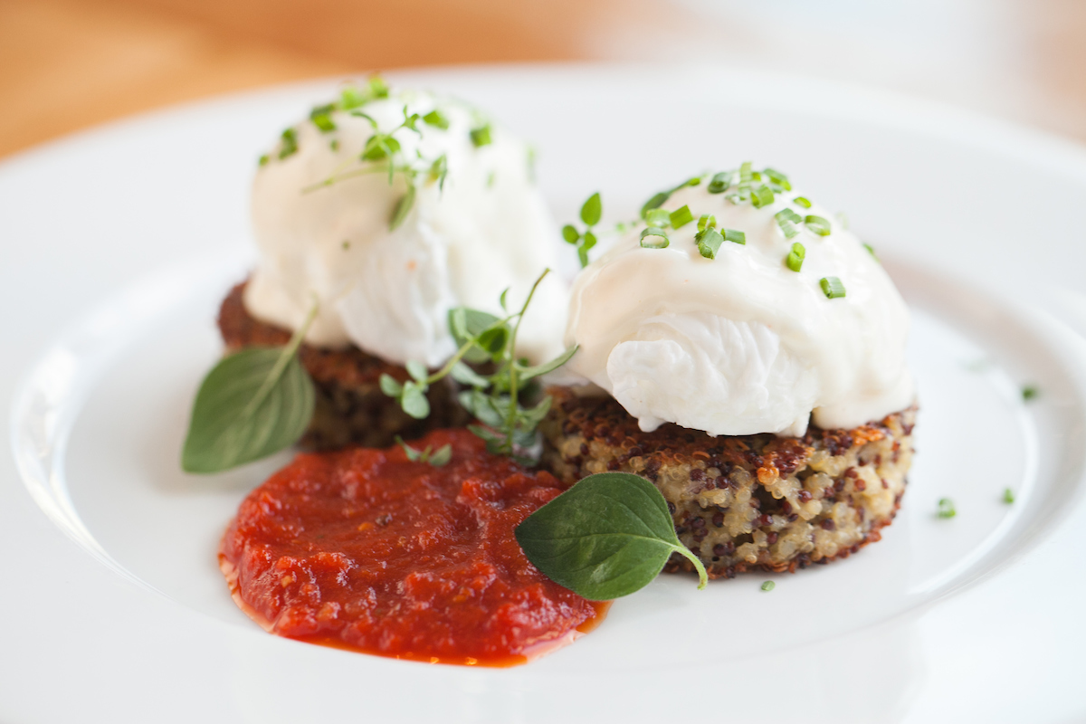 Beatrix Brunch- Quinoa Cakes