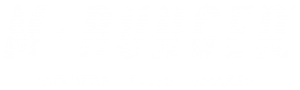 The logo of M Burger®