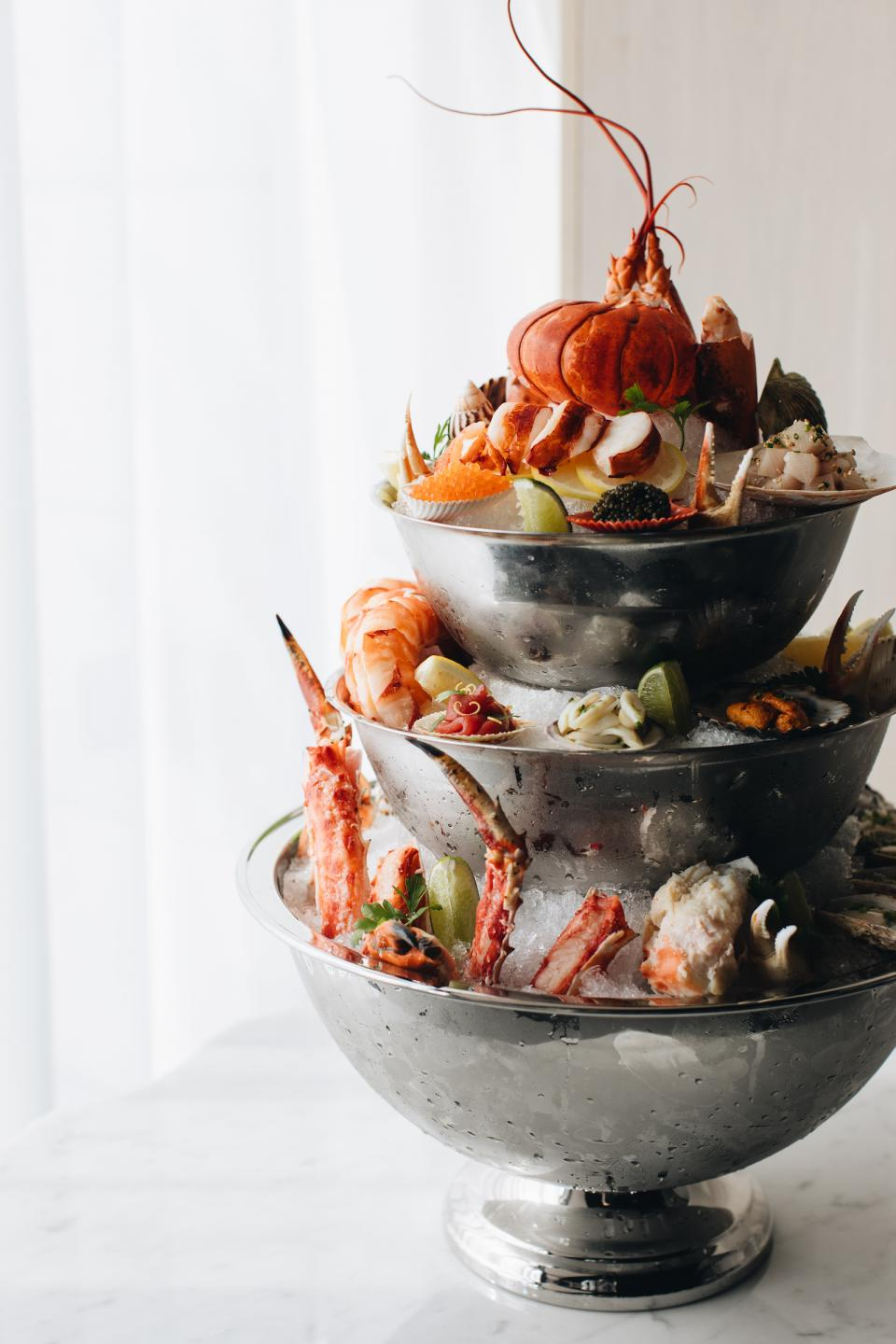 SEafood Tower at RPM Seafood