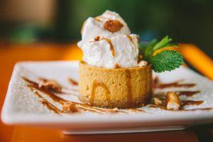 Big Bowl Pumpkin Cheesecake