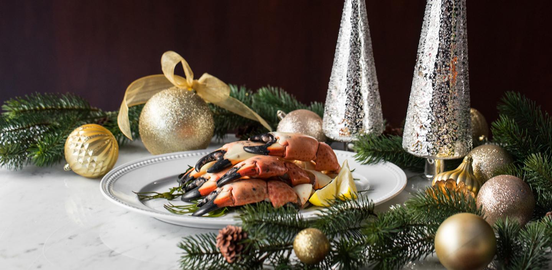 Holiday stone crab