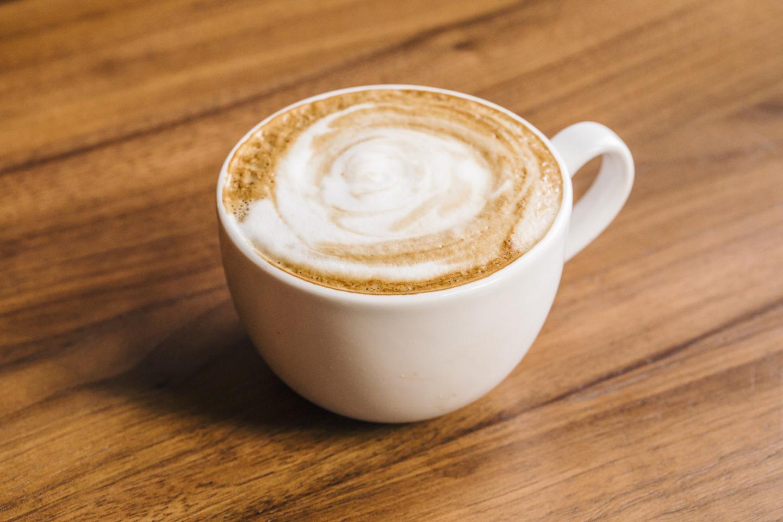 Latte at Beatrix