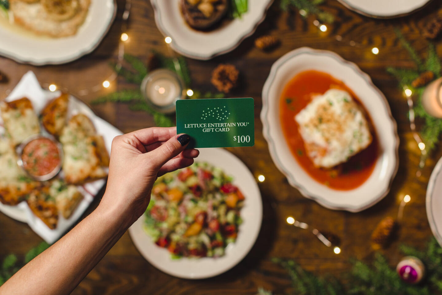 Lettuce Entertain You Gift Cards at il porcellino