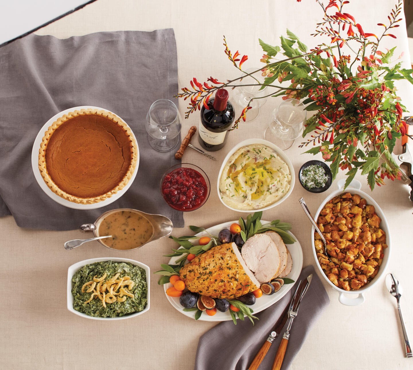 Wildfire Thanksgiving to go