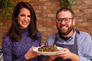 Karina Heinrich and Executive Chef Ben Goodnick