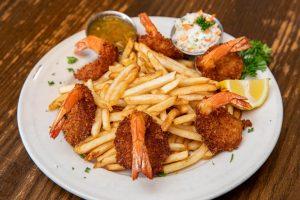 Coconut Shrimp on RJ Grunts dinner menu