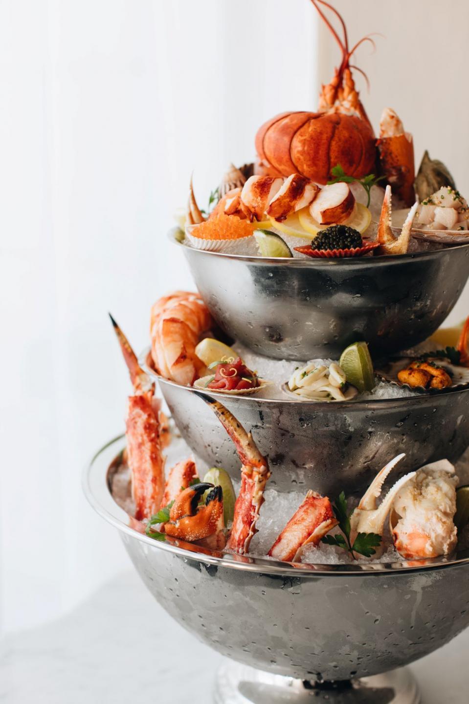 RPM Seafood Royal Seafood tower