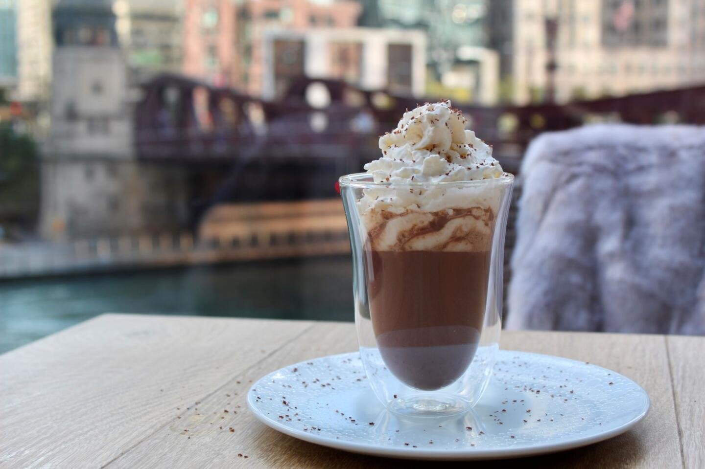 rPM Seafood Spiked Hot Chocolate