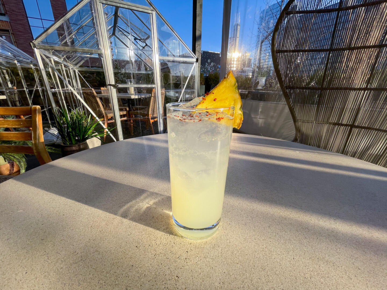 Pineapple Serano Mocktail