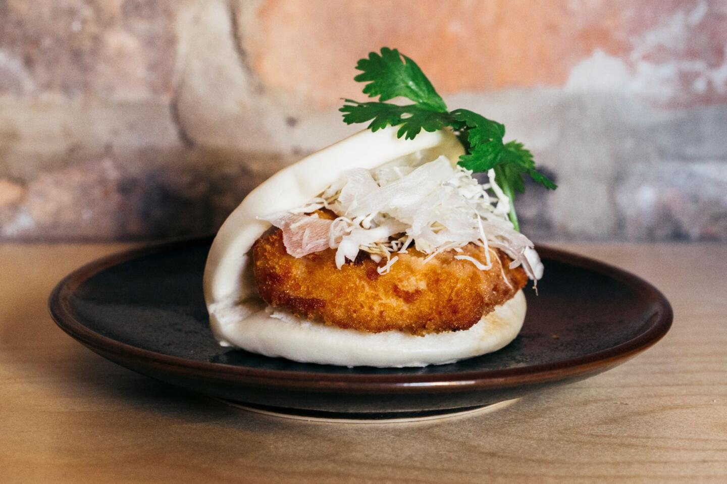 Ramen San Fried chicken bun