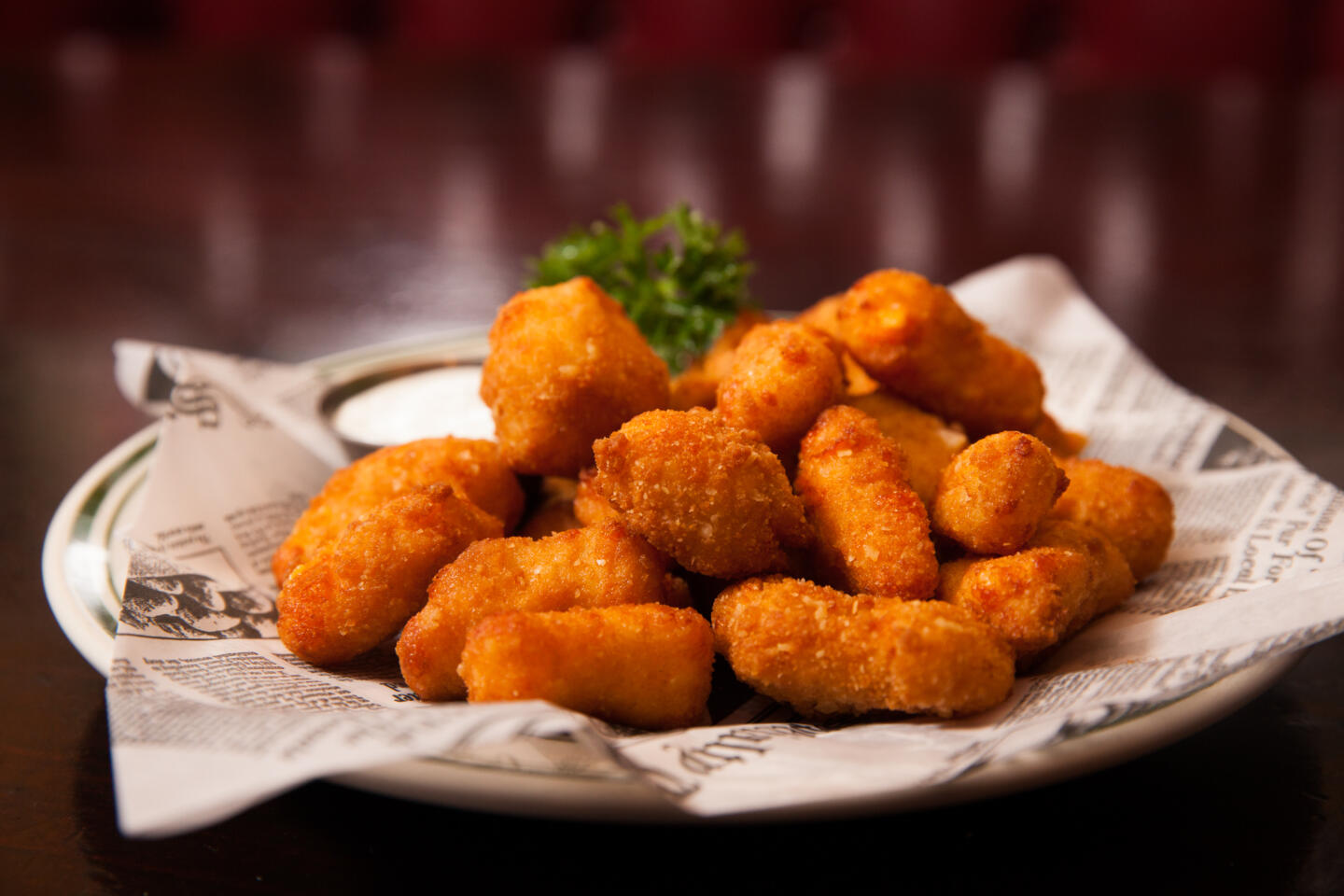 L Woods cheese curds