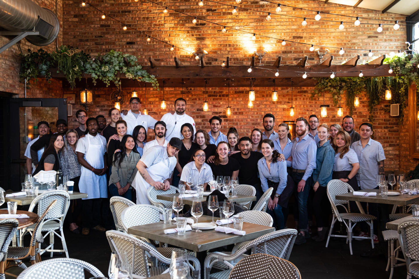 Summer House and Stelal Barra Chicago staff