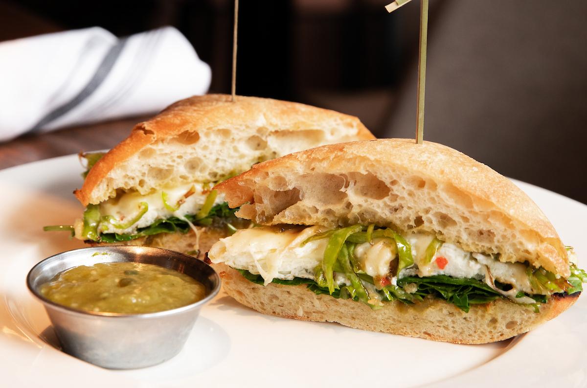 Beatrix Pepper Egg White sandwich