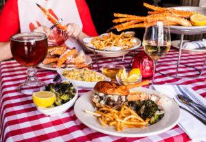 Crab Cellar family meal