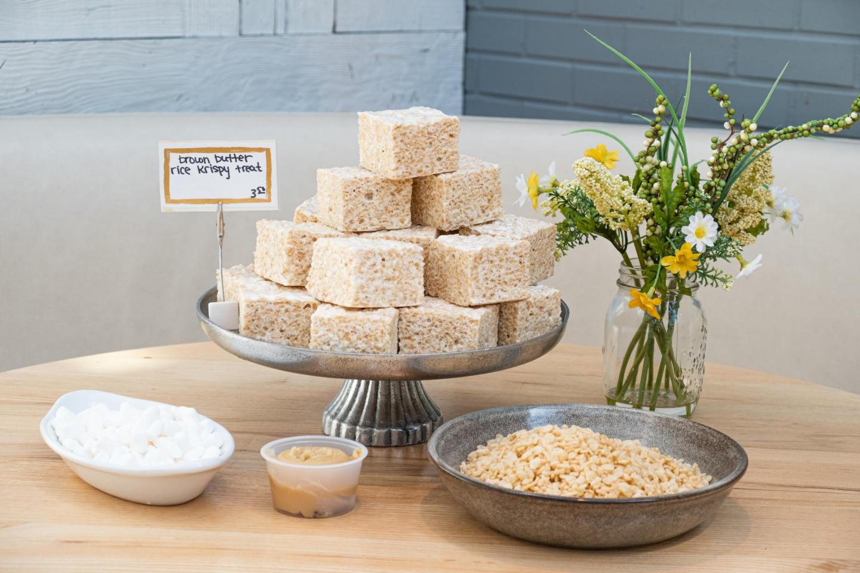 rice krispie treats from summer house