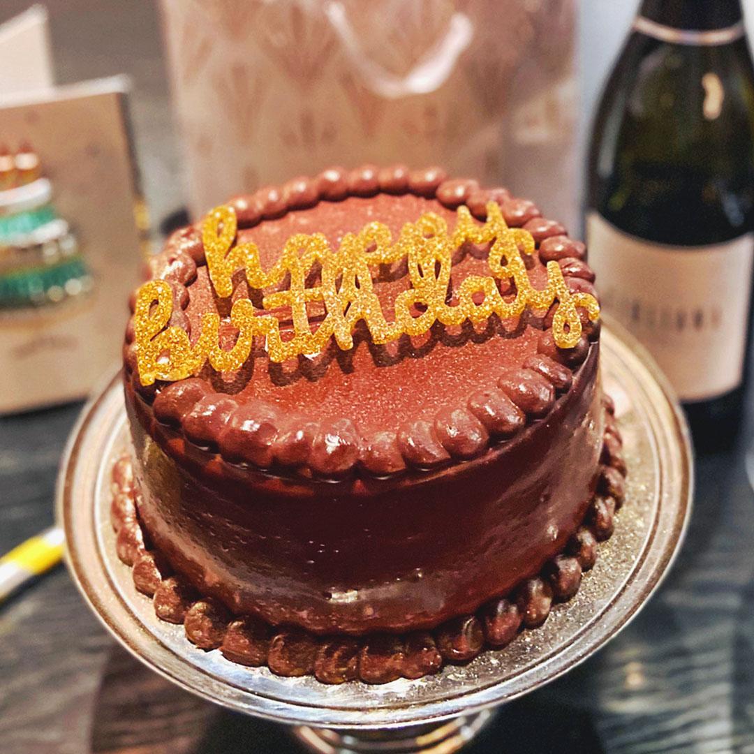RPM birthday cake