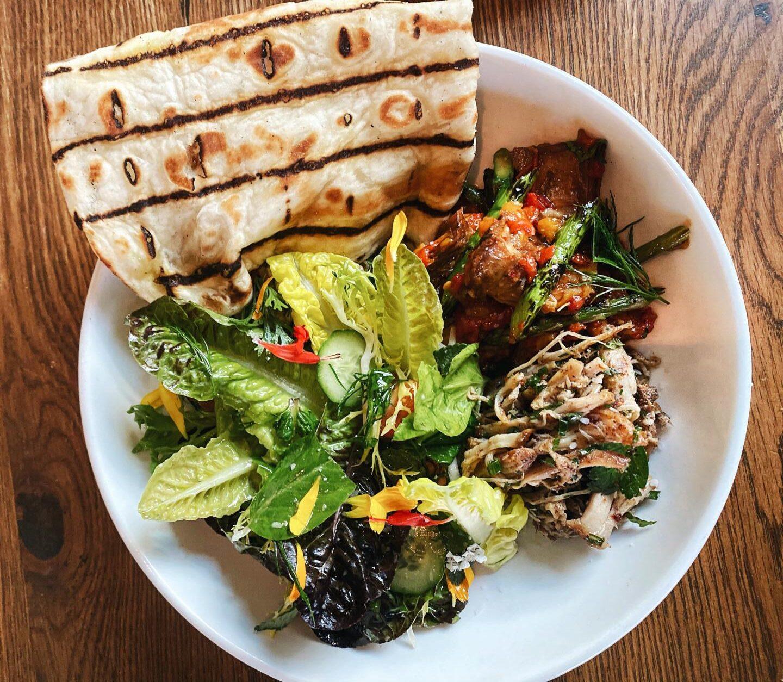 artichoke Ema salad lunch
