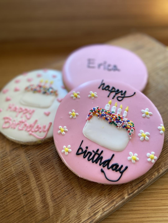 Beatrix birthday cookies