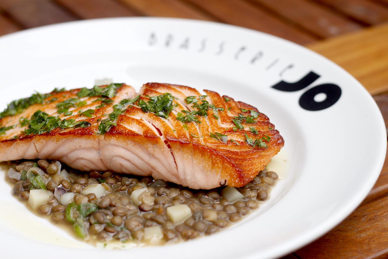 Brasserie Jo Salmon dish