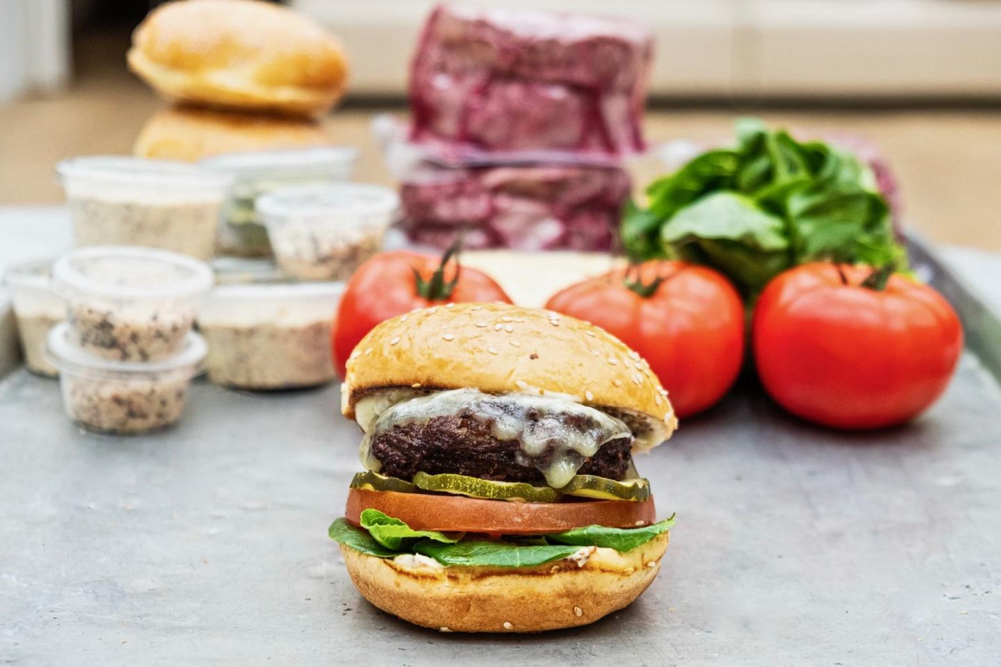 Burger Kit from Summer House santa monica