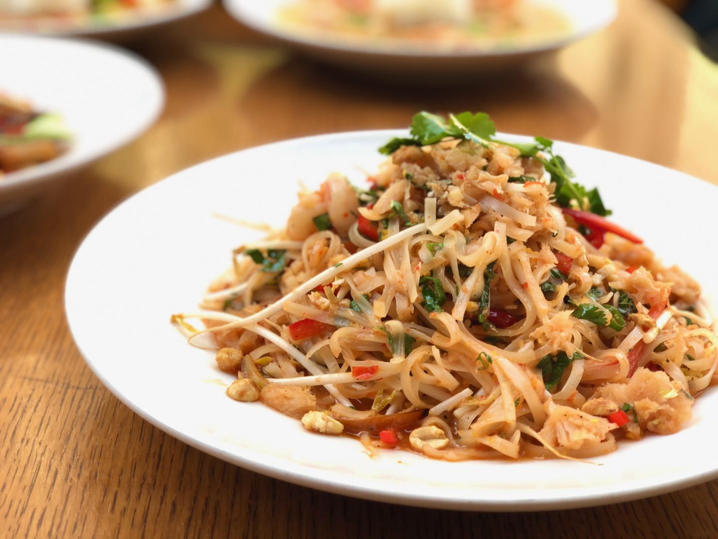 Noodle dish from VTK