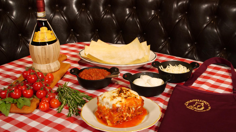 il Porcellino Burrata Lasagna Kit