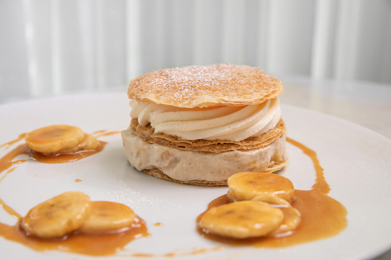 RPM Seafood napoleon dessert