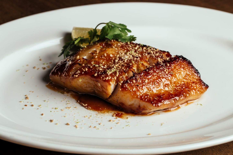 RPM STeak Broiled black cod