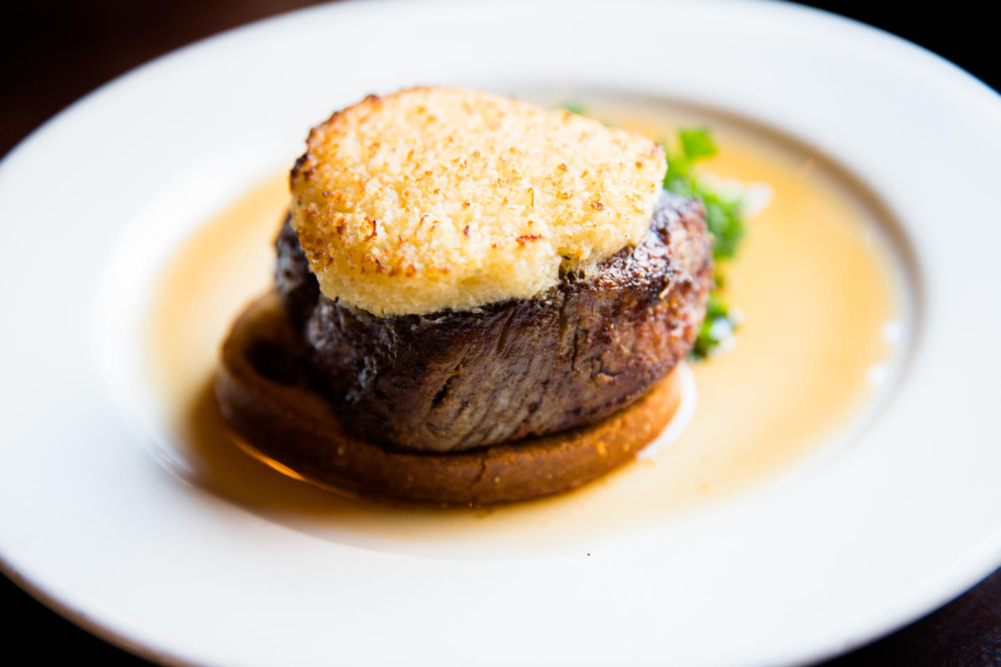 Wildfire Horseradish Crusted Filet