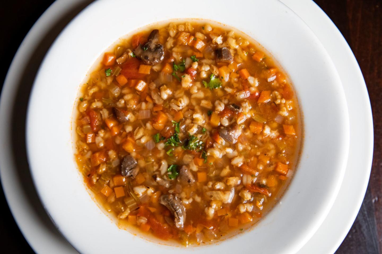 Wildfire Mushroom Barley Soup